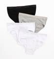 Calvin Klein Cotton Classic Low Rise Hip Briefs - 4 Pack U4183