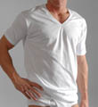Hanes Big Mens Original Cotton V-Neck T-Shirts - 3 Pack 777X