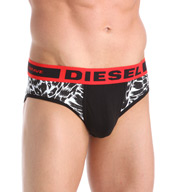 Diesel Jack Animal Print Cotton Stretch Brief SJ64DAMU