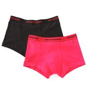 Emporio Armani Fashion Stretch Cotton Trunks - 2 Pack 1112105A