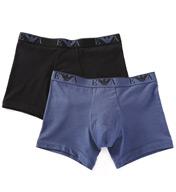 Emporio Armani Eva Stretch Cotton Boxers - 2 Pack 1112685A
